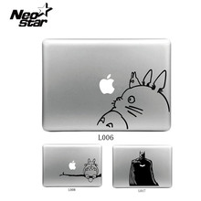 Cute Decal For Mac Air 11 13 15 Sticker for Macbook Pro Vinyl Skin Funny Totoro Batman Skin Skin Decal For Laptop Lenovo HP