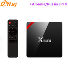 2G 16G IPTV Box X96 pro Ip tv Set Top Box Europe Arabic IPTV Subscription Sweden Plus French Italy Africa IPTV Channels TV Box