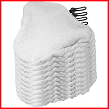 Free shipping!!! Wholesale 100pcs/LOT Microfiber Steam mop pads/pad for x 5 H20 mop(China)