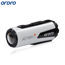ORDRO New HD 1080P Waterproof Helmet Sport Action Camera DV Sport Camera Mini Outdoor Sport Portable DVR Cam Bicycle Camera