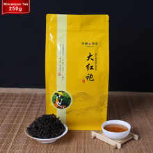 Green Food 250g Chinese Top Wuyi Dahongpao Tea Big Red Robe Oolong Tea Beauty Diuretic lose Weight Oolong Da Hong Pao Black Tea