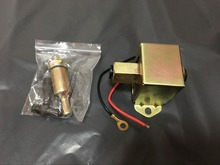 12V top square electric fuel pump 40104 40105 40106 P502 low pressure electric pump(China)
