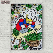 New print Alec monopoly Graffiti arts print canvas for wall art decoration oil painting wall painting picture No framed S23