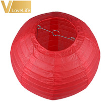 "14"" (35cm) Round Paper Lanterns Kongming lanterns Wedding Birthday Party Events Decorations Party Supply Lamp Chinese Paper Ball(China)"