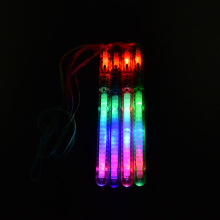 Flashing Wand LED Glow Light Up Stick Patrol Blinking Concert Party Favors Christmas Supplies