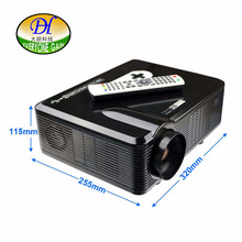 Everyone Gain TL258 Support Red Blue 3D Projector Build-in Speaker Home Business Teaching Proyector Support HD 1080P Beamer