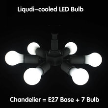 7 Heads E27 Liquid-cooled LED Bulbs Chandelier Multi-purpose LED Corn Bulbs For Wall Lamp Table Lamp Floor Lamp 5 Years Warranty(China)