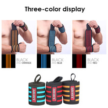 AOLIKES 1PCS Hand Wraps Sport Wrist Strap Weight Lifting Wrist Wraps Powerlifting Bodybuilding Breathable Wrist Support A-1539