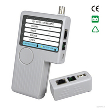 Free Shipping!!! NOYAFA NF-3368 NOYAFA NF-3368 4 in 1 Network Cable Tester RJ45/RJ11/USB/BNC LAN Cable Cat5 Cat6 could be test(China)