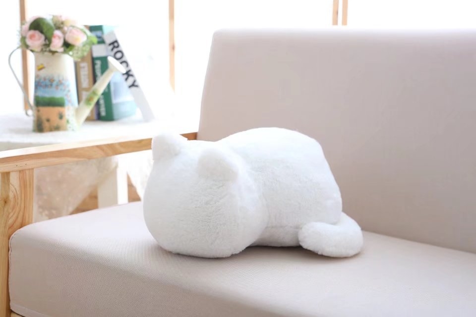 1pcs Cute Soft Cat Stuffed Pillow Lovely Kawaii Animal Plush Shadow Cat Plush Toy For Kids Gift Home Decoration (11)