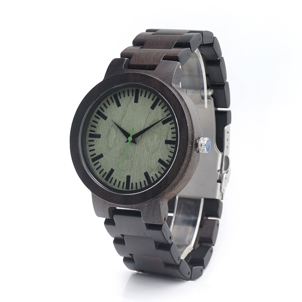 BOBO BIRD C29 Mens Black Ebony Wooden Watch with All Wood Strap Quartz Analog Luxury Wedding Wristwatch in Gift Box<br><br>Aliexpress