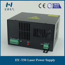 fractional T50 co2 laser power source for co2 glass tube(China)