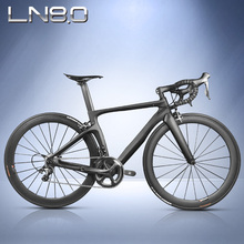 LEADNOVO Carbon road frame frameset Chinese carbon fibre cycling race bike BSA BB30 Di2&Mechanical bicycle frame(China)