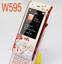 Refurbished Original Sony Ericsson W595 Flower Mobile Phone Unlocked W595 Cellphone(China)
