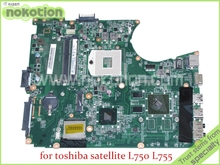 Buy NOKOTION DABLBDMB8E0 A000080140 toshiba satellite L750 L755 Laptop Motherboard HM65 DDR3 Nvidia graphics for $91.80 in AliExpress store