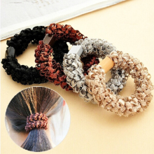 4pcs/lot Women Ultra Elastic Headband Hairband Ladies Braided Scrunchie Hair Rope Rubber Band Girls Hair Accessories