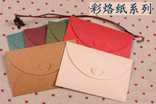 10pcs/lot 175mm*110mm 6 Colors Paper Envelopes Bags Wholesale Greeting Cards Invitations Announcements Assorted