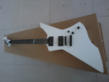 2015 New + Factory + white ESP snakebyte james hetfield signature electric guitar with Rosewood fretboard ESP Snake explorer