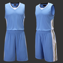 Men's Basketball Jersey Outdoor Sports Suit Sleeveless Blank Jersey usa Western Jersey Basketball Training Set Team Uniforms