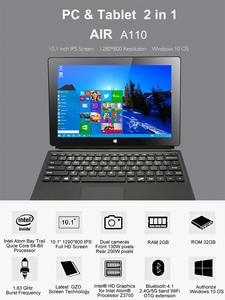 Tablet PC Trail Windows Bluetooth Intel Quad-Core 10-2gb-Ram New Type-C Z3735F OTG IPS