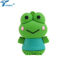 Trangee Frog USB Flash Drive 4GB 8GB 16GB 32GB Silicone Pen Drive USB 2.0 Flash Memory stick Cartoon Pendrive