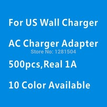 New Universal 500pcs/Lot Cube 5V 1A Single US Plug USB Charging AC Wall Charger Adapter For iPhone 7 6 5 Plus by DHL