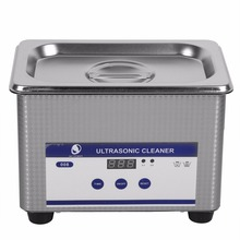 Stainless Steel 800ml 35W Timer Ultrasonic Cleaner Industry Heated Jewelry Eyeglass Watch Cleaner Cleaning Machine EU/US Plug