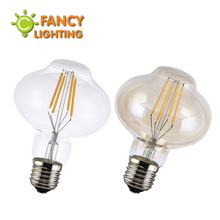 LED Edison Filament Light Bulb E27 220V 4W Transparent&Gloden 360 degree Energy saving Lantern bulb replace incandescent bulb