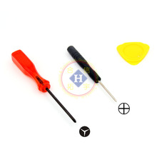 HOTHINK Y + Phillips screwdriver with Pry opening tool For WII remote controller / GBM / DS Lite / 3DS(China)
