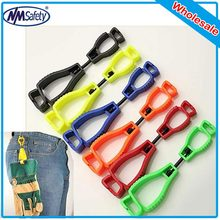 NMSafety 50Pcs Plastic Glove Clip/Tools Clip/Line Clip protective Holder safety industry.(China)