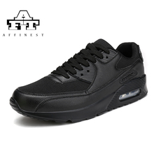 Brand Autumn Women Man Running Shoes Athletic Sneakers For Men Air Breathable Sport Tennis Black Shoes Max 2017