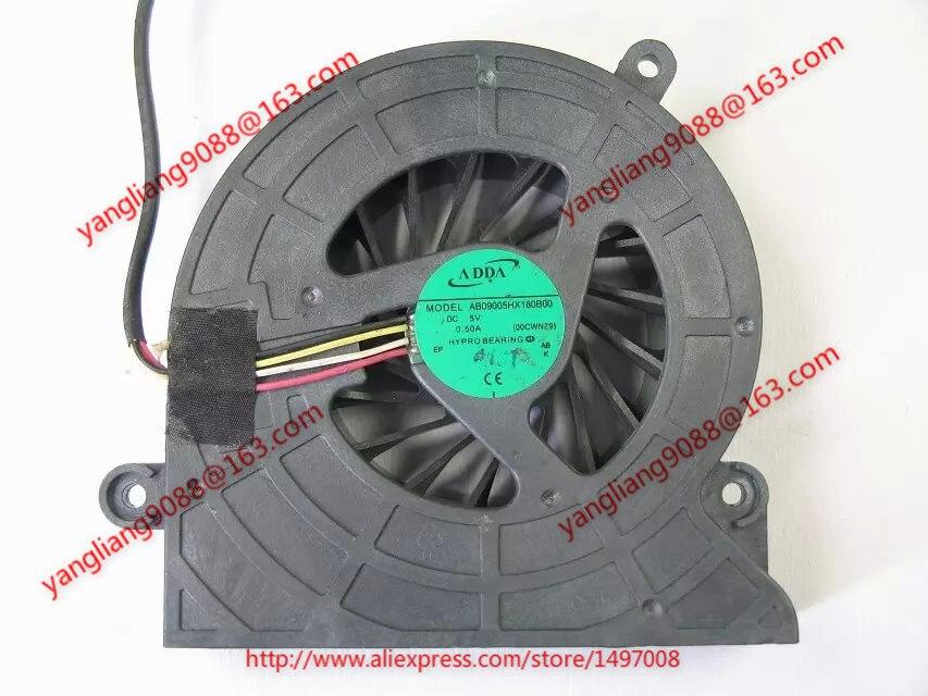 ADDA AB09005HX180B00, 00CWNZ9 DC 5V 0.50A  45mm Server  Blower fan<br>