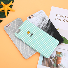 Buy Luxury Retro Green Grid iPhone 7 case Geometric Graphic Triangle Hard PC Back Cover iPhone 6 6S 8 Plus 7plus 8plus Case for $2.99 in AliExpress store