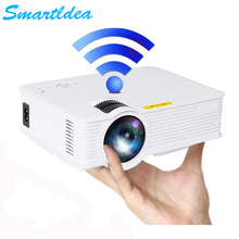 Newest S90 S90wifi Mini LED Home Cinema Projector Pico 1800lumens Multimedia LCD Digital Proyector 3D Beamer Support HD 1080P(China)