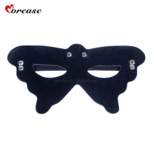 Buy Morease Sexy PU Leather Eye Mask Blindfold Bondage Fetish Erotic Cosplay Adult Game Bdsm Women Sex Toys Product