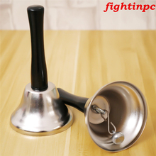 1PC Noble Reception Dinner Party Shop Hotel Hand Bell School Handbell Restaurant Call Bell Service Sound Bell(China)
