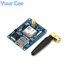 1 pc SIM800C Development Board GSM GPRS Module Support Message Bluetooth TTS DTMF Quad-band Alternative SIM900A With Glue Stick(China)