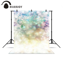 Allenjoy photo backdrop glitter sparkle glitter winter snowflakes pastel backdrops professional background for photo studio