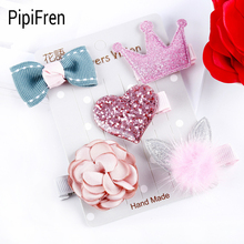 PipiFren Dogs Bows Hair Clips Accessories Yorkshire For Dogs Grooming Pets Bows Hair Shop Wedding Products fermagli per cani(China)