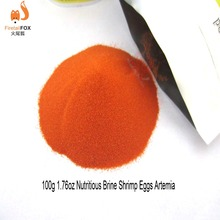 100 gram Brine Shrimp Eggs Artemia Cycts Ocean Nutrition Fish Food Feeding Supplies Can Feed Directly(China)