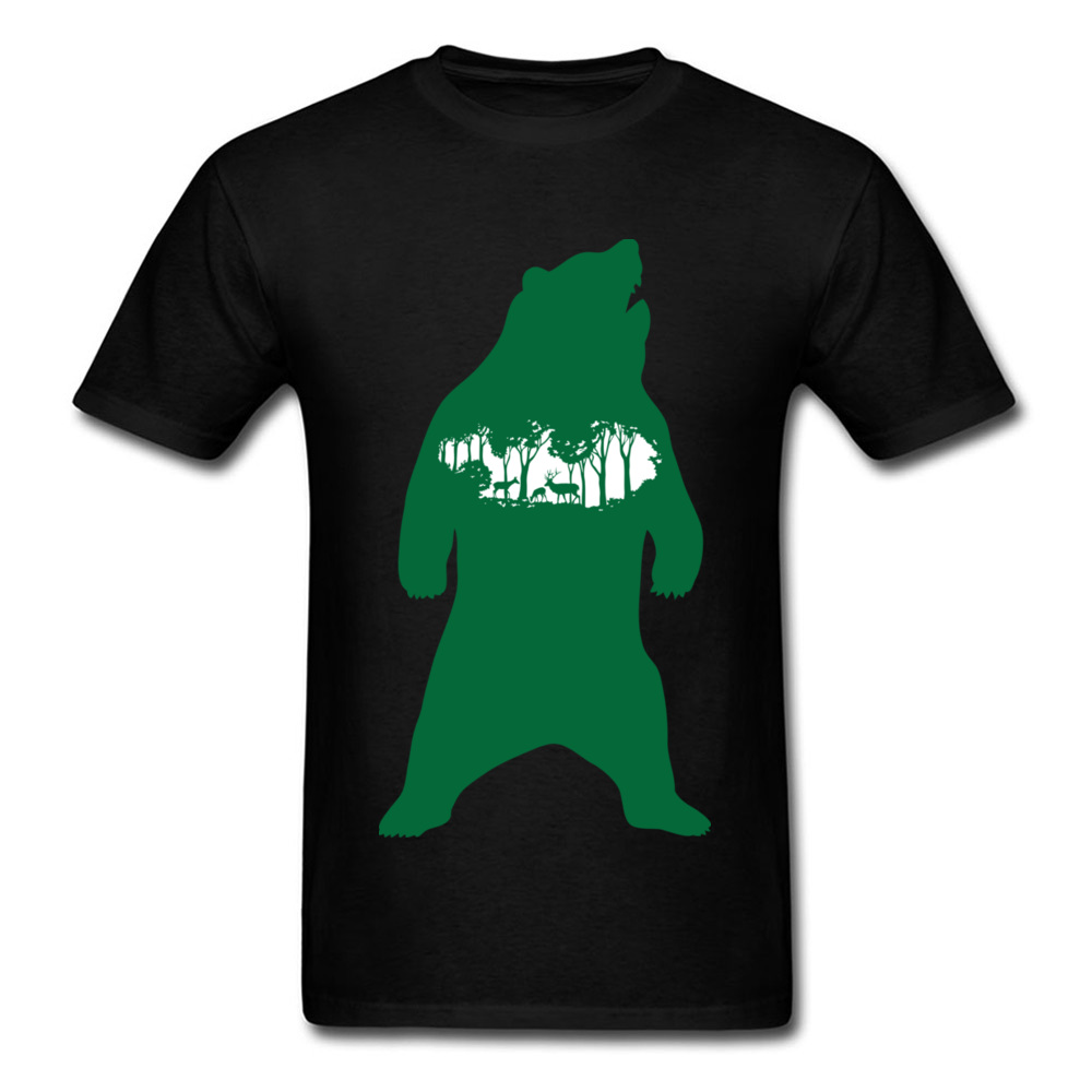 Green Bear_black