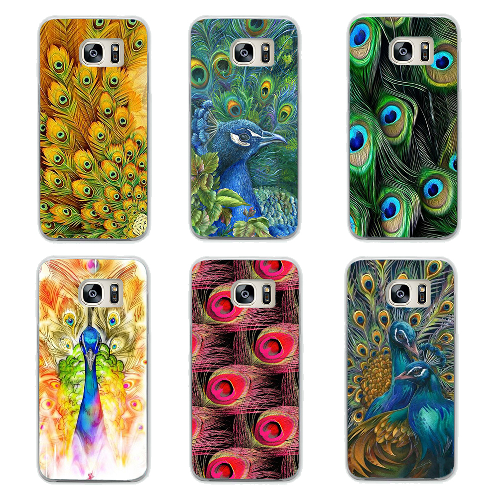 Pu leather case for samsung galaxy a7 2016 a710 peacock feather - Pu Leather Case For Samsung Galaxy A7 2016 A710 Peacock Feather Cool Peacock Feather Design