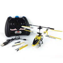 High Quality Children RC Helicopter Fot Kids 3.5 CH Channel Metal Remote Control Gyro Brand Helicogyre With Led Lights