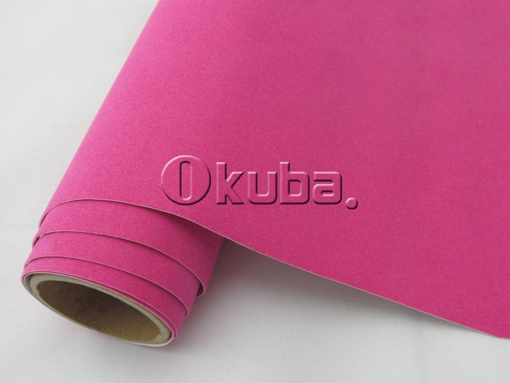 Pink-Velvet-Film-Car-Sticker-Film-05