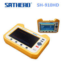 Sathero Digital Satellite Meter SH-910HD Satellite Finder DVB-S2 7 Inch HD LCD Screen With Spectrum Analyzer SH 910HD