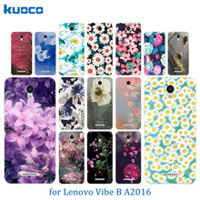 Buy Lenovo Vibe B A2016 A1010 A20 Plus APlus A1010a20 1010 A2016A40 Soft Phone Cases Silicone Blossom Pattern Cover for $1.25 in AliExpress store