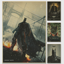 Evolution of Batman retro Movie Poster Wall Paper Home Decor Cuadro Art Painting classic prints