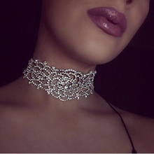 2017 New Fashion Maxi Choker Necklace For Women Boho Vintage Flowers Collar Statement Collier Trendy Jewelry For Women N54651