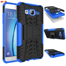 LELOZI Couqe Case For Samsung Galaxy S6 G9200 Note 4 On 5 On 7 J1 Ace J2 J3 Heavy Duty Armor Silicon Cover Anti Slide N9100 Capa(China)