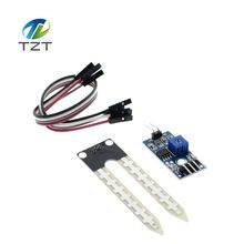 1pcs Smart  Soil Moisture Hygrometer Detection Humidity Sensor Module For arduino Development Board DIY Robot Smart Car